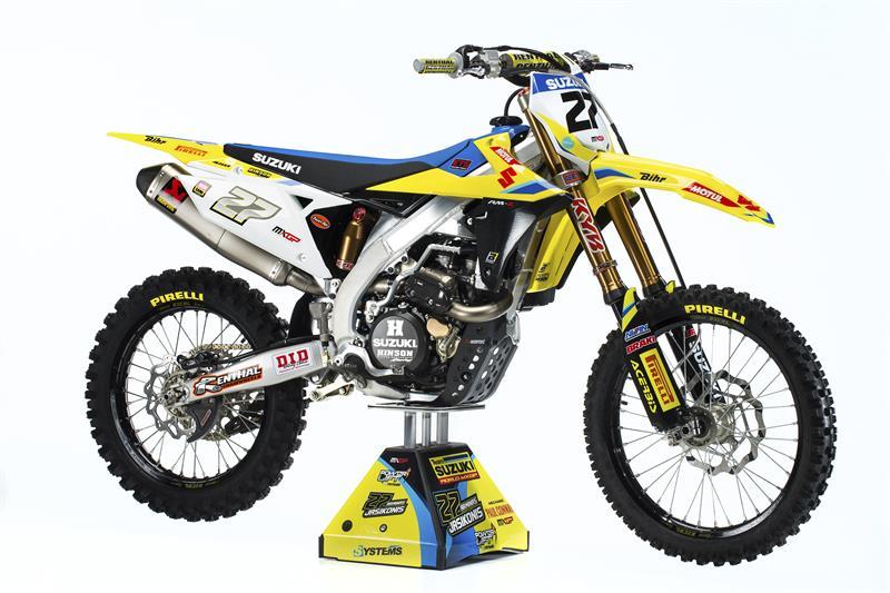 2018 RM-Z450WS #27 Arminas Jasikonis