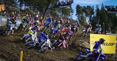 【リザルト】2017 モトクロス世界選手権(MXGP) 第16戦 スウェーデン